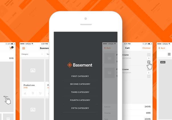 Basement iOS: E-commerce