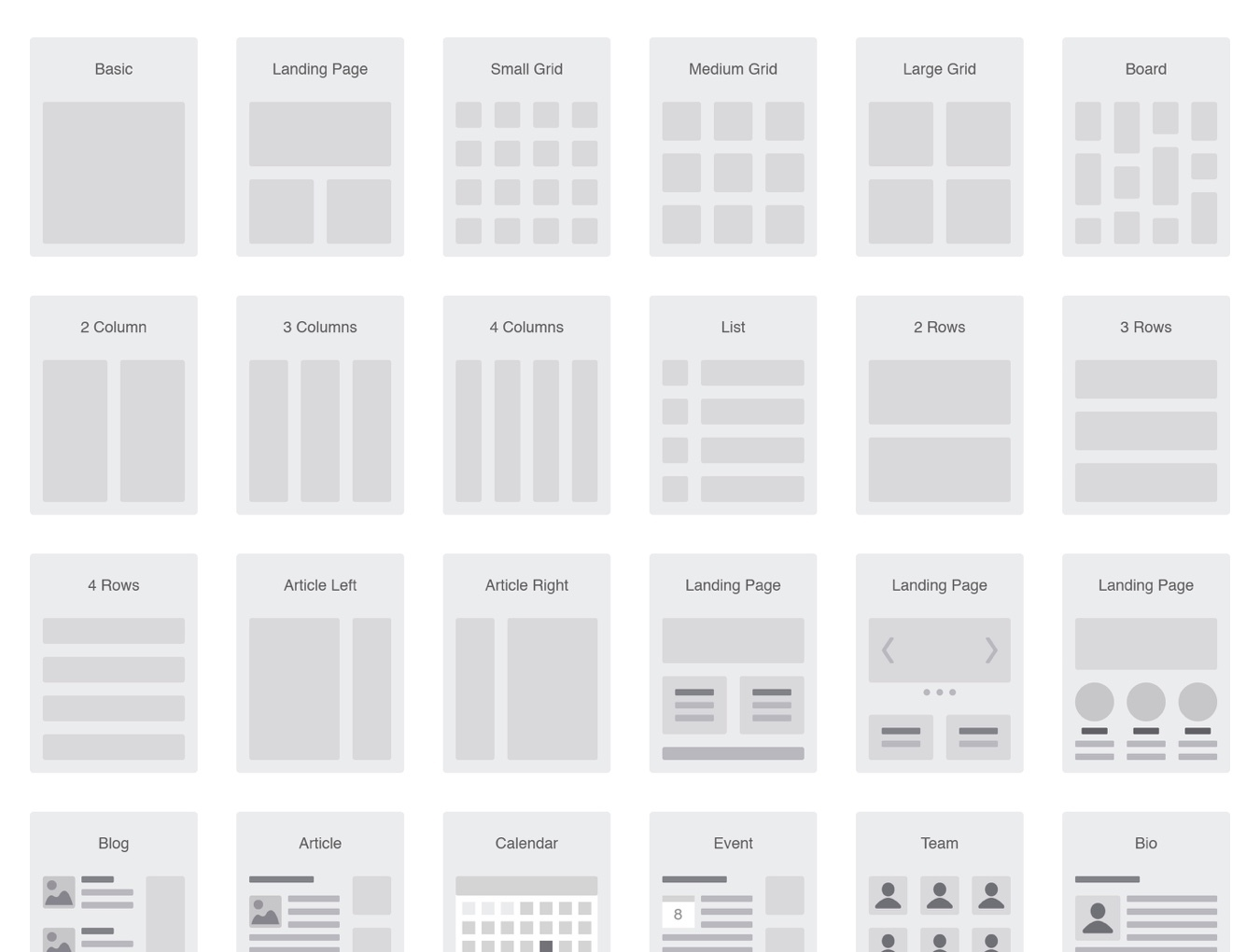 Website Flowchart & Sitemap — Wireframe Kits on UI8