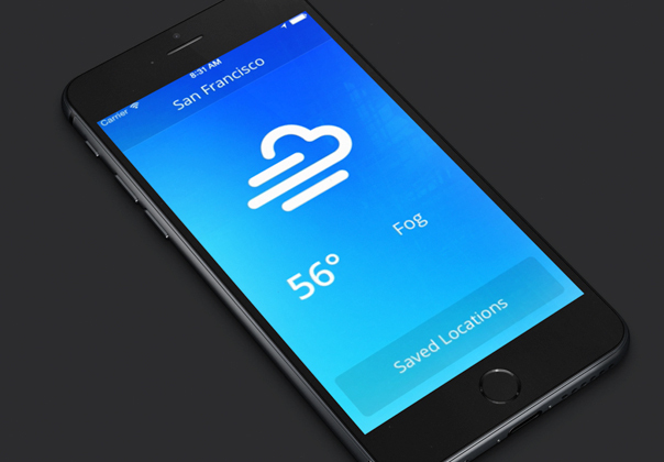 Sketch Weather App