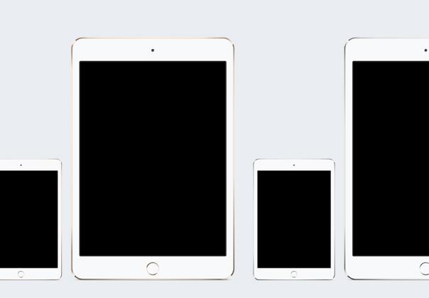 iPad Mini 3 Template
