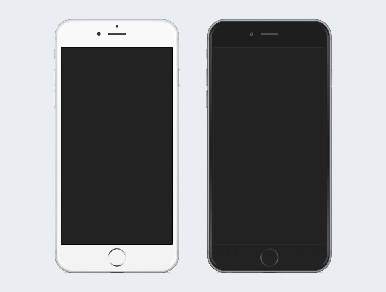 iphone 6 plus template. Black Bedroom Furniture Sets. Home Design Ideas